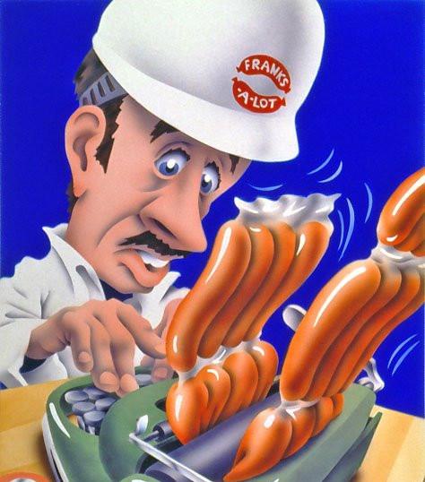 Typing Hotdogs