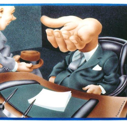 Bureaucrat on the Take