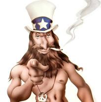 Hippy Uncle Sam