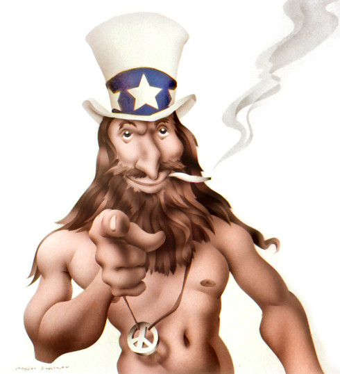 Hippy Uncle Sam