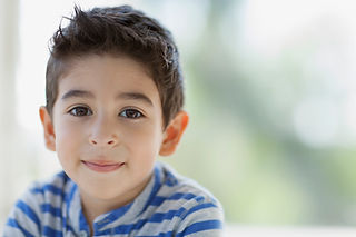 Boy porträtt