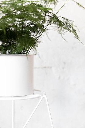set Bona, kovový stojan+kovový obal na rastliny