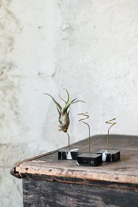 Mramorový stojan - airplant stand