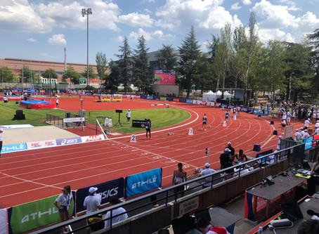 Sonorisation des championnats de France d'athlétisme élite