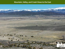 Mountain, Valley, and Creek Views to the