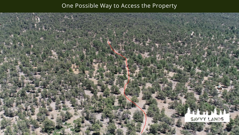 One Possible Way to Access the Property.