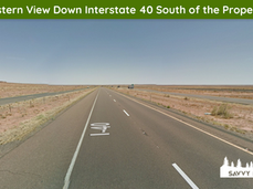 Eastern View Down Interstate 40 South of