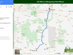 242 Miles to Albuquerque New Mexico.jpg