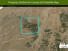 Property Outline On County GIS Satellite