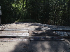 Crossing Over the Railroad into the Prop