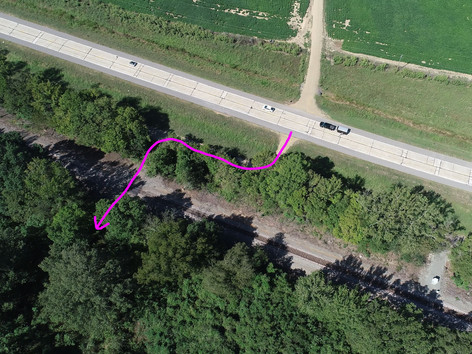 Access Off Of Highway 67 Here.JPG
