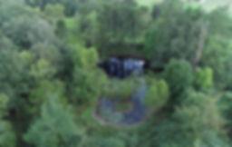 Pond on the Property