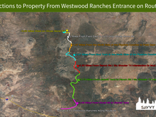 Directions to Property From Westwood Ran