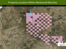 Property Location Within Westwood Ranche