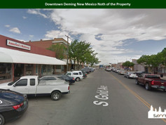 Downtown Deming New Mexico Noth of the P
