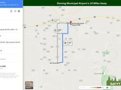 Deming Municipal Airport is 10 Miles Awa