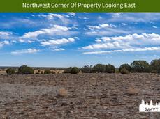 Northwest Corner Of Property Looking Eas