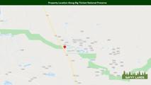 Property Location Along Big Thicket Nati