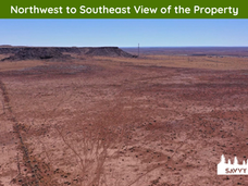 Northwest to Southeast View of the Prope
