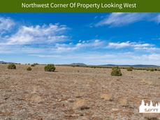 Northwest Corner Of Property Looking Wes