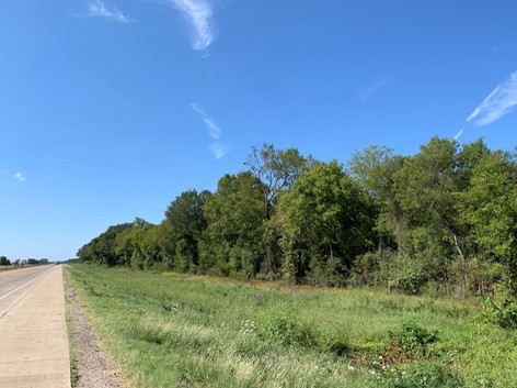Property Frontage Along Interstate 30.JP