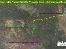 Directions to the Property From the West
