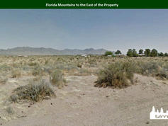 Florida Mountains to the East of the Pro