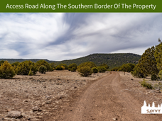 Access Road Along The Southern Border Of