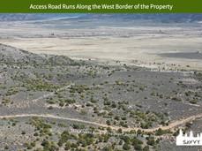 Access Road Runs Along the West Border o