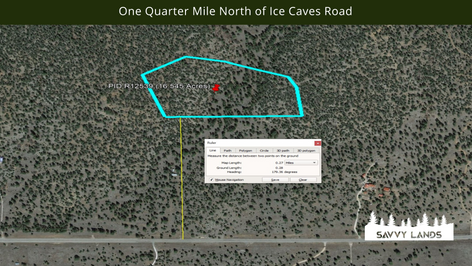 One Quarter Mile North of Ice Caves Road