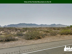 View of the Florida Mountains to the SE.