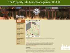 The Property Is In Game Management Unit