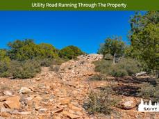 Utility Road Running Through The Propert