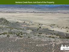 Ventero Creek Runs Just East of the Prop