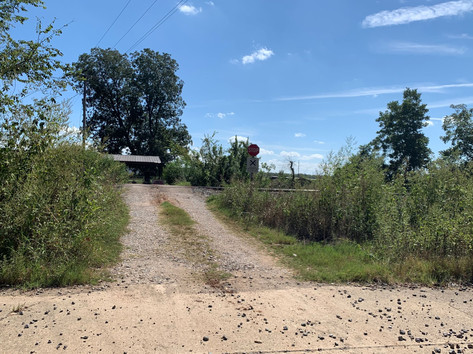 Entrance to Neighbors Property to the So