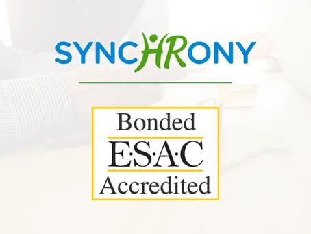 SynchronyHR Gains ESAC Accreditation