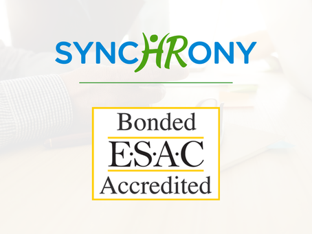 SynchronyHR Gains ESAC Accreditation