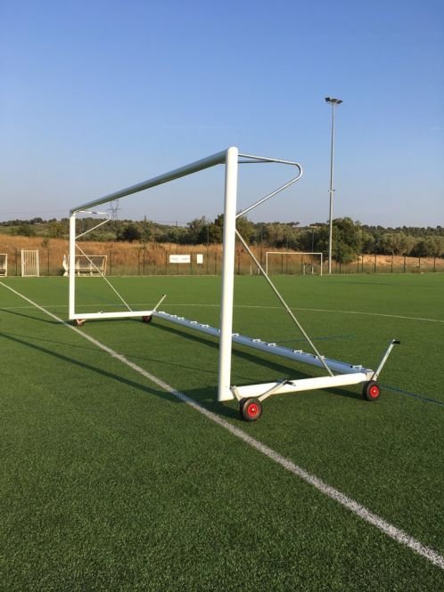 BUT DE FOOTBALL A 11 TRANSPORTABLE auto-lesté 7,32 x 2,44 m
