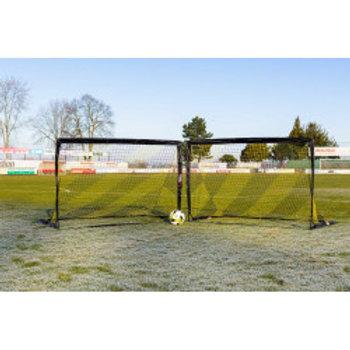 """PAIRE DE MINI BUT DE FOOTBALL """"POP-UP POWERSHOT"""" 1,8 x 1,2 m"""