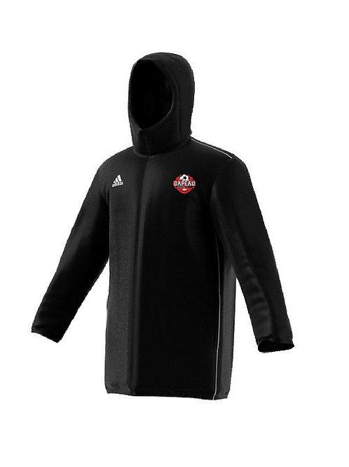 "BOUTIQUE GAPEAU FC PARKA LONGUE ADIDAS ""stadium jacket"""