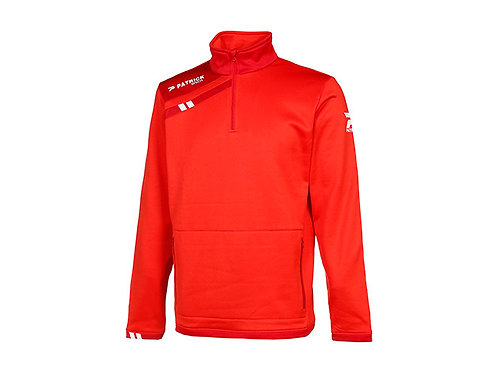 """PATRICK SWEAT 1/2 ZIP """"FORCE115"""" ROUGE TAILLE M"""