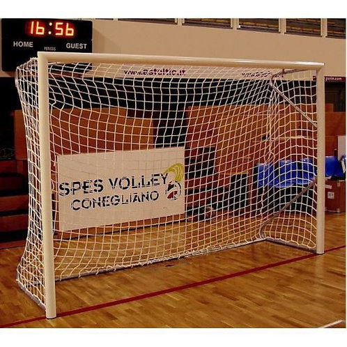 BUT DE FOOTBALL A 5 TRANSPORTABLE ALUMINIUM 4 x 2 m