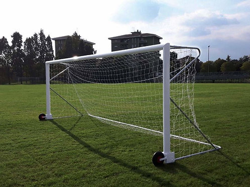 BUT DE FOOTBALL A 8 TRANSPORTABLE 6 x 2,10 m
