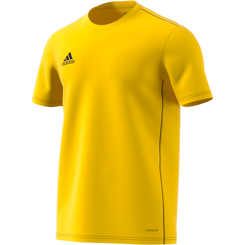 "ADIDAS T SHIRT POLYESTER ""CORE 18"" ENFANT"
