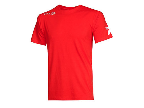"""PATRICK T SHIRT """"SPROX145"""" ROUGE TAILLE M"""
