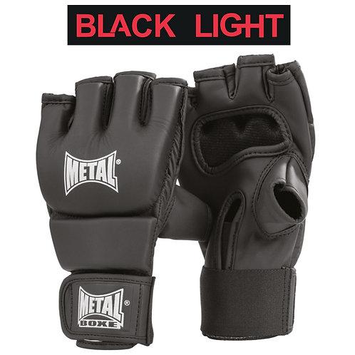 METAL BOXE GANT COMBAT LIBRE BLACK LIGHT