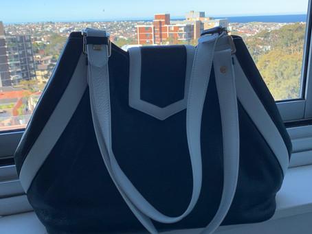 "Review:  The Victoria Bag,  my ""Australia"" bag."