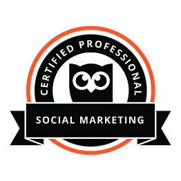 Hootsuit Certified Professional in Social Marketing