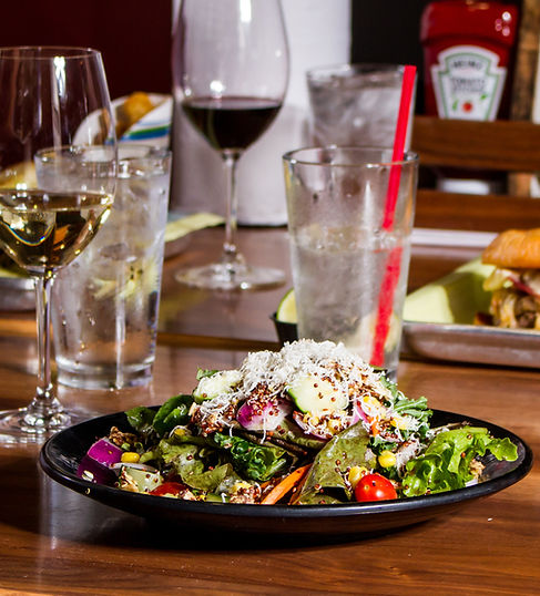 We also offer salads at Klinkeltown in Rapid City, SD