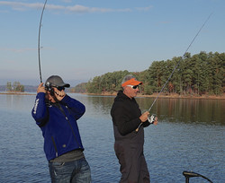 Lake Lanier Spotted Bass Show